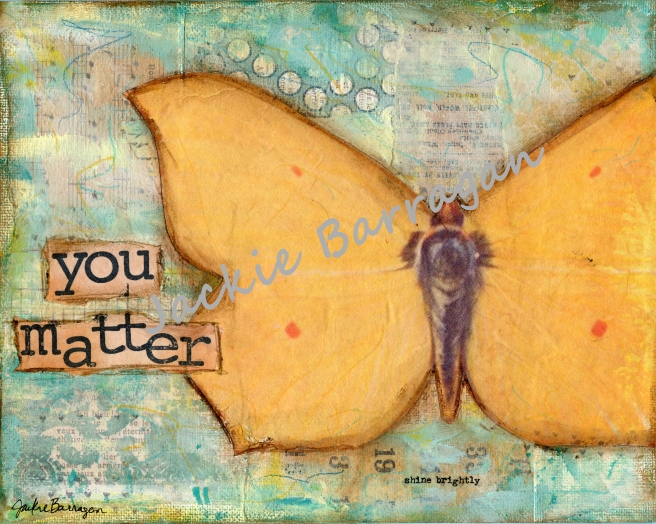 You Matter Butterfly - watermark